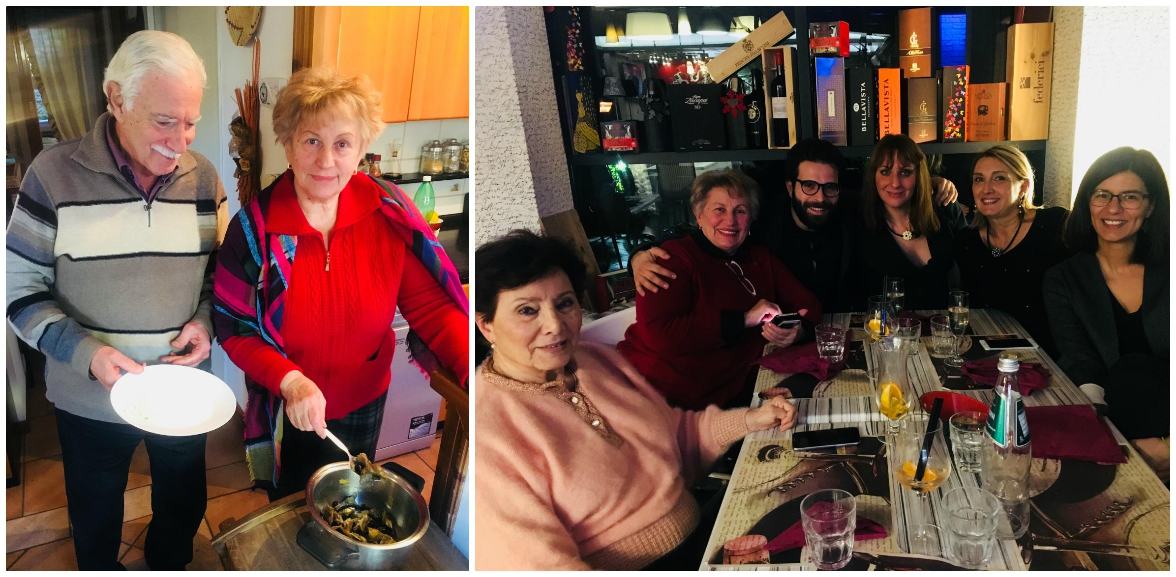 Ioana with tutors