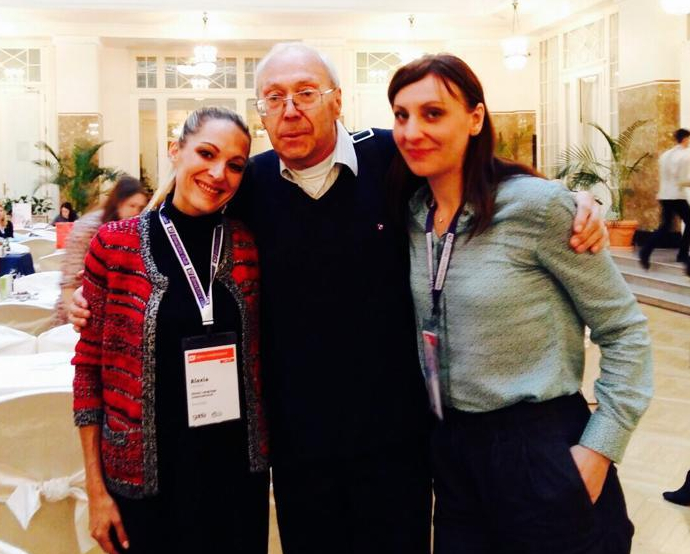 Organiser Victor with HLI representants